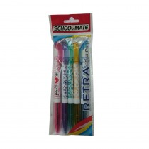 Add Gel Retra Ball Pen (Pack of 10)