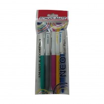 Add Gel Schoolmate Neo Ball Pen (Pack of 10)