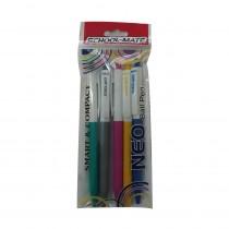 Add Gel Schoolmate Neo Ball Pen (Pack of 10)