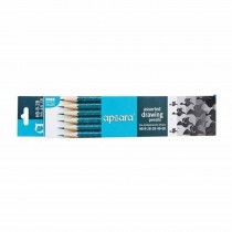 Apsara Drawing Asst. Pencils for Artist (Pack of 6)