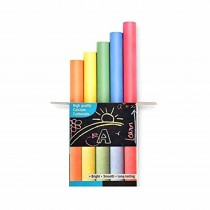 Apsara Dustfree Coloured Assorted Chalk (Box of 10) Pack of 2