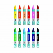 Apsara Plastic Crayons (Set of 12)