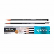 Apsara Platinum Pencils Extra Dark (Pack of 20)