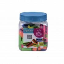 Apsara Rub-a-Long Eraser Mini (Jar of 100)