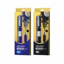 Apsara TechnoMax Gel Pen (Pack of 2)