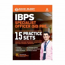Arihant 15 PRACTICE SETS IBPS Specialist Officer (SO) Pre BANK BUDDY IBPS SPECIALIST OFFICER (SO) PRE
