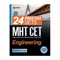 Arihant 24 Practice Sets MHT CET Engineering 2019