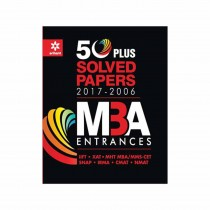 Arihant 50 Plus Solved Papers MBA Entrances
