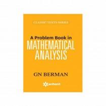 Arihant A Problem Book in MATHEMATICAL ANALYSIS