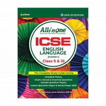 Arihant All In One ICSE ENGLISH LANGUAGE(Paper 1) Class 9and 10
