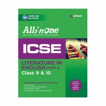 Arihant All in One ICSE Literature In English Class 9 and 10