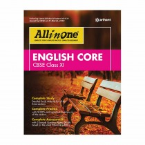 Arihant CBSE All In One ENGLISH CORE Class 11