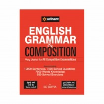 Arihant English Grammar & Composition Very Useful for All Competitive Examinations