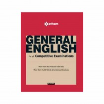 Arihant General English for All Competitive Examinations