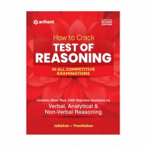 Arihant How to Crack Test Of Reasoning- REVISED EDITION