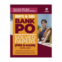 Arihant IBPS & SBI BANK PO SOLVED PAPERS (PRE & MAIN) 2018-2011