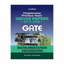 Arihant Instrumentation Engineering Solved Papers GATE 2020
