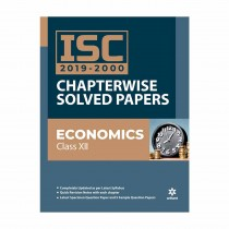Arihant ISC 2019-2000 Chapterwise Solved Paper Economics Class 12