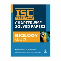 Arihant ISC Chapterwise Solved Papers Biology class 12
