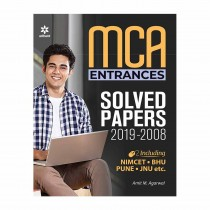 Arihant MCA Entrances Solved Papers 2019-2008