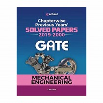 Arihant Mechanical Engineering Solved Papers GATE 2020