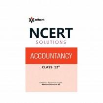 Arihant NCERT Solutions - Accountancy for Class 12