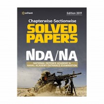 Arihant NDA NA Solved Paper Chapterwise & Sectionwise