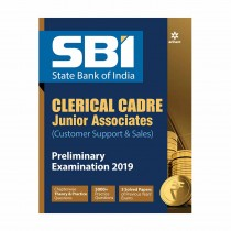 Arihant SBI CLECRICAL CRADE JUNIOR ASSOCIATES PRELIMINARY Examination 2019