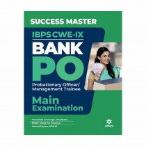 Arihant Success Master IBPS-CWE IX Bank PO Probationary Officer Management Trainee Main Examination