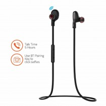 Artis Sports Bluetooth Wireless Earphone with Stereo Sound & Hands free Mic BE410M