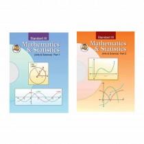 Balbharti Mathematics & Statistics Arts & Science Part-1 & 2 For Class 11