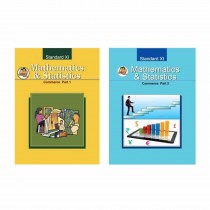 Balbharti Mathematics & Statistics Commerce Part-1 & 2 For Class 11