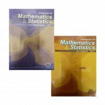 Balbharti Mathematics & Statistics Part 1 & 2 (Art & Science) For Class 12