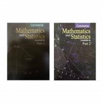 Balbharti Mathematics & Statistics Part 1 & 2 (Commerce) For Class 12