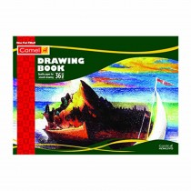Camlin A4 Drawing Book (36 Pages) Pack of 3