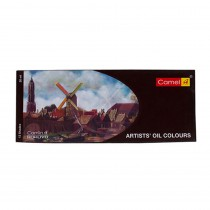 Camlin Artist Oil Colours 12 Assorted Colours
