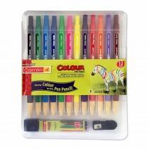 Camlin Colour Pen Pencil 12 Shades