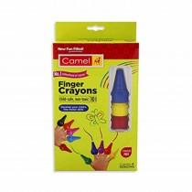 Camlin Finger Plastic Crayons (10 Shades)