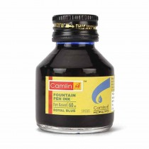 Camlin Fountain Pen Ink (60 ml) (Pack of 2)