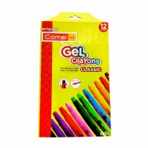 Camlin Gel Crayons Classic 12 Shades
