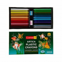 Camlin Hexagonal Plastic Crayons