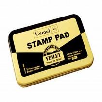 Camlin Metal Stamp Pad No.1 Small Violet