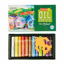 Camlin Oil Pastel 12 Shades (10 mm) Pack of 2