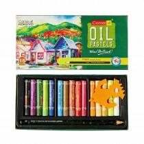 Camlin Oil Pastels 15 Shades + Drawing Pencil