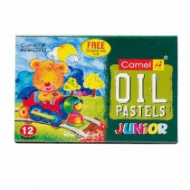 Camlin Oil Pastels Junior (12 Shades) Pack of 2