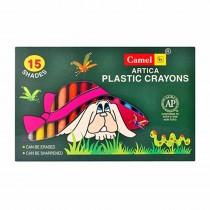 Camlin Plastic Crayons 5000 (15 Shades)