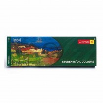 Camlin Student Oil Colours 12 Assorted Colours