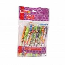 Camlin Trendy Klick Pen Pencil (0.7 mm) Pack of 10