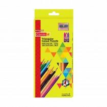 Camlin Triangular Full Size Colour Pencils