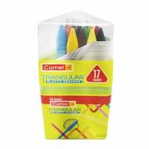 Camlin Triangular Plastic Crayons